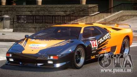 Lamborghini Diablo Super Veloce L4 für GTA 4