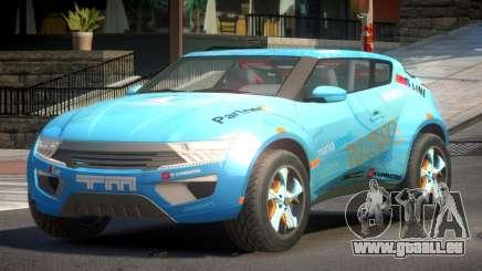 Lagoon Car from Trackmania 2 PJ1 pour GTA 4
