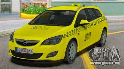 Opel Astra J Kombi Taxi pour GTA San Andreas