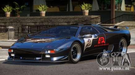 Lamborghini Diablo Super Veloce L6 für GTA 4