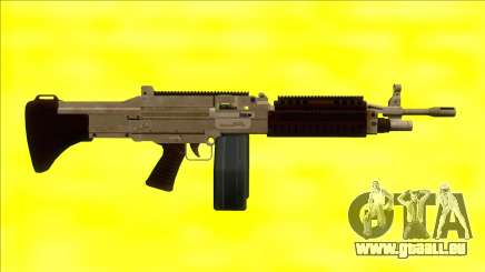 GTA V Combat MG Army Big Mag pour GTA San Andreas