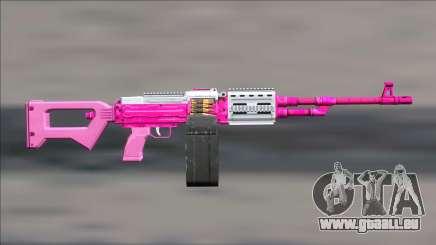 GTA V Shrewsbury MG Pink Extended clip pour GTA San Andreas