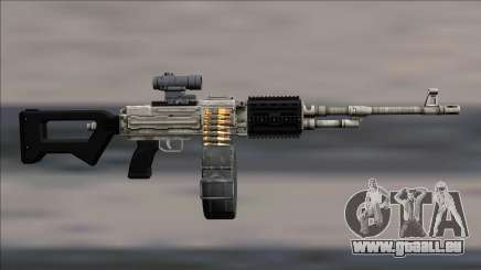 GTA V Shrewsbury MG Platinum Scope Deafault clip für GTA San Andreas