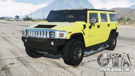 Hummer H2 200ⴝ für GTA 5