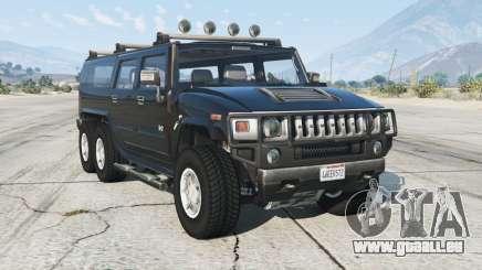 Hummer H2 6x6 für GTA 5
