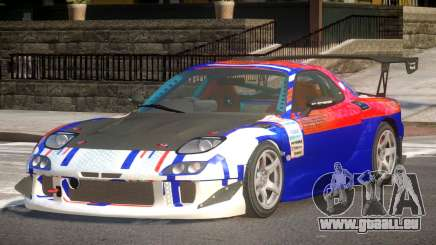 Mazda RX7 CPS PJ1 für GTA 4