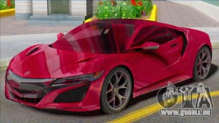 Acura NSX SA für GTA San Andreas