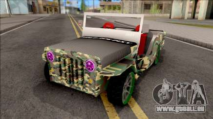 Jeep Wrangler Philippines Owner Type pour GTA San Andreas