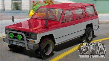 Nissan Patrol Safari pour GTA San Andreas