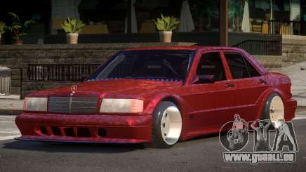 Mercedes Benz 190E 1998 pour GTA 4