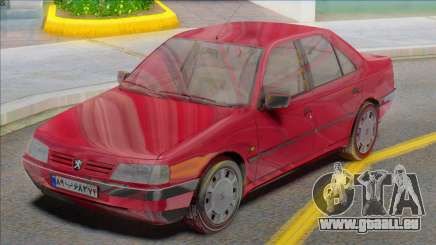 Peugeot 405 GLX Red pour GTA San Andreas