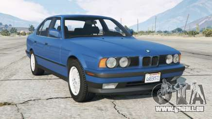 BMW 535i (E34) 1987 add-on pour GTA 5