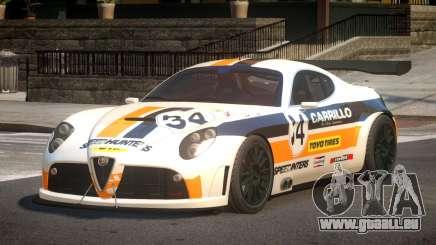 2007 Alfa Romeo 8C L7 für GTA 4