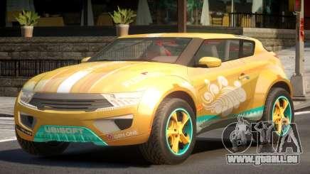 Lagoon Car from Trackmania 2 PJ6 pour GTA 4