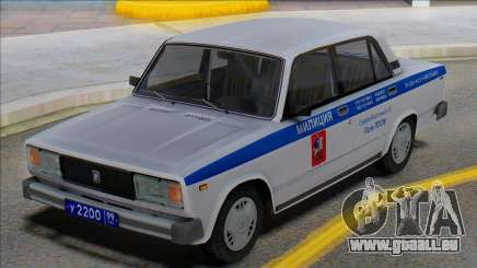 Vaz 2105 PPP Police 2001 pour GTA San Andreas
