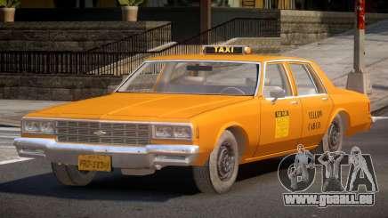 1985 Chevrolet Impala Taxi pour GTA 4