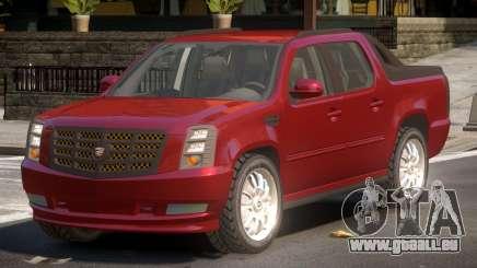 Cadillac Escalade Ext TR für GTA 4