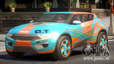 Lagoon Car from Trackmania 2 PJ8 pour GTA 4