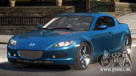 Mazda RX8 R-Tuned für GTA 4