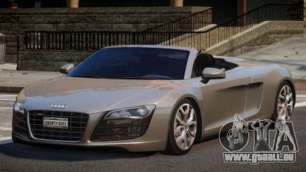 Audi R8 FSI 5.2 SR pour GTA 4