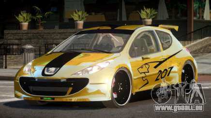 Peugeot 207 RT für GTA 4
