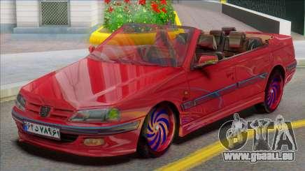 IKCO Peugeot Pars Crook Edition für GTA San Andreas