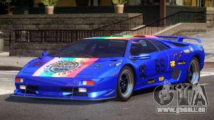 Lamborghini Diablo Super Veloce L1 für GTA 4