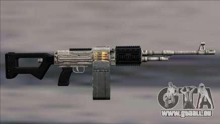 GTA V Shrewsbury MG Platinum Extended clip pour GTA San Andreas