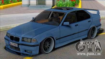 BMW E36 Berline Basse pour GTA San Andreas