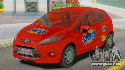 2012 Ford Fiesta Van für GTA San Andreas