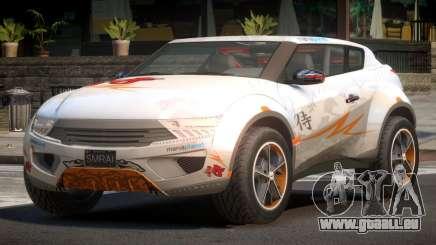 Lagoon Car from Trackmania 2 PJ12 pour GTA 4