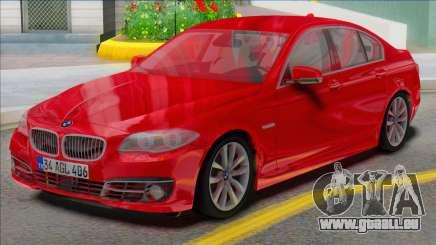 BMW 525i F10 REAL CAR pour GTA San Andreas