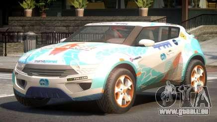 Lagoon Car from Trackmania 2 PJ5 pour GTA 4