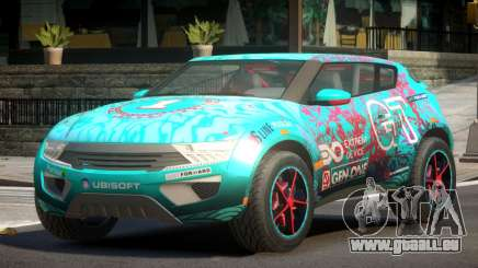Lagoon Car from Trackmania 2 PJ7 pour GTA 4