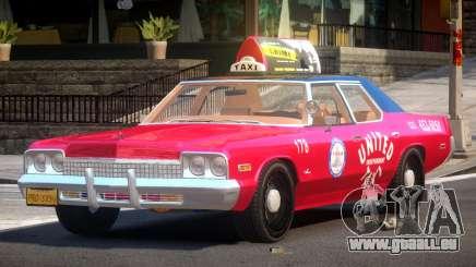 Dodge Monaco Taxi V1.3 pour GTA 4