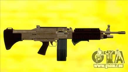 GTA V Combat MG Army Grip Big Mag pour GTA San Andreas