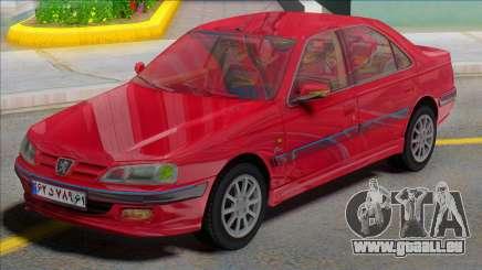 Ikco Peugeot Pars TU5 für GTA San Andreas