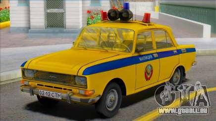 ASLK Moscou 2140 Police soviétique 1982 pour GTA San Andreas