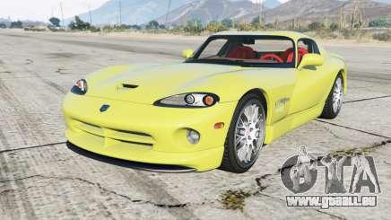 Dodge Viper GTS ACR 1999 pour GTA 5