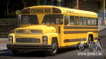 School Bus from FlatOut 2 pour GTA 4