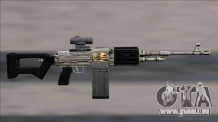 GTA V Shrewsbury MG Platinum Scope Extended clip pour GTA San Andreas