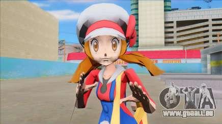 Lyra from Pokemon Masters pour GTA San Andreas