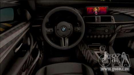BMW M4 Custom pour GTA San Andreas