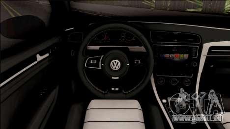 Volkswagen Golf 7 Blue pour GTA San Andreas
