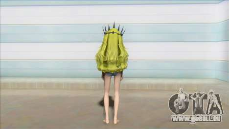 Chariote Black rock shooter Bikini costume pour GTA San Andreas