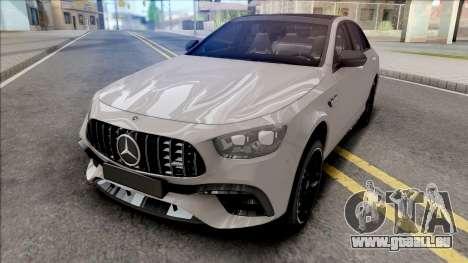 Mercedes-Benz E63S AMG 2020 pour GTA San Andreas