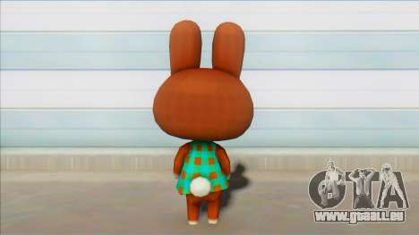 Animal Crossing New Leaf Carmen Skin Mod pour GTA San Andreas