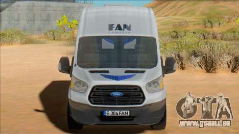 2020 Ford Transit - Fan Courier für GTA San Andreas