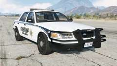 Ford Crown Victoria Sheriff pour GTA 5