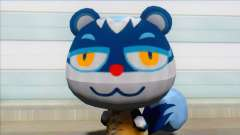 Animal Crossing Tasha Skin Mod pour GTA San Andreas